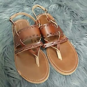 Vegan leather Mossimo supply company sandals